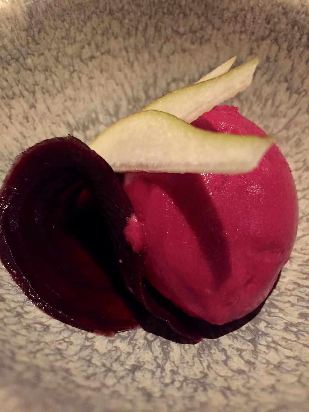 Beetroot Sorbet © Traverate