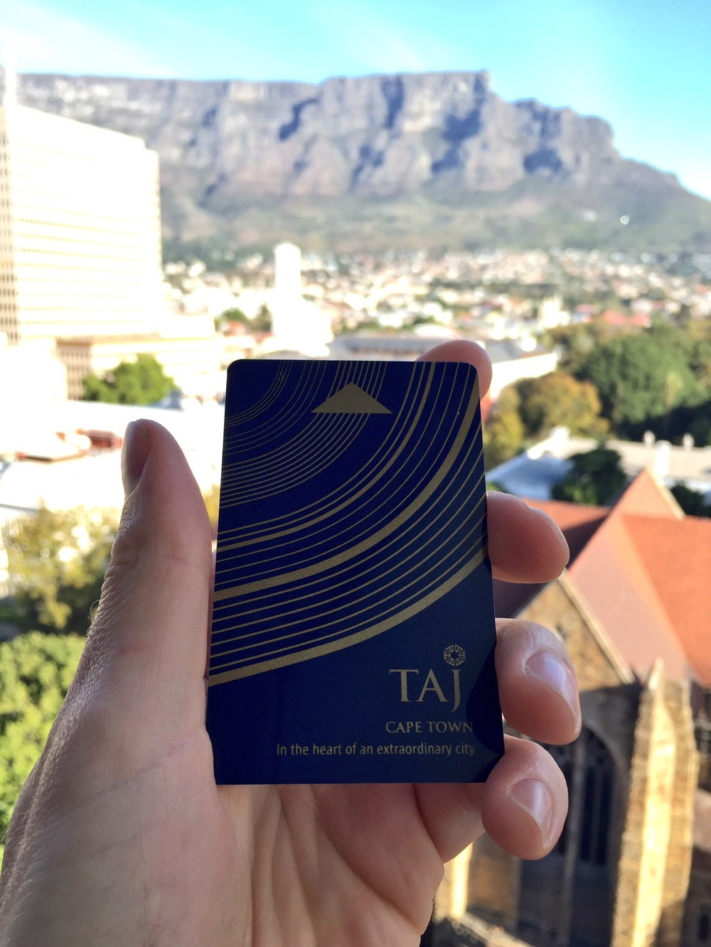 Taj is located in the historic centre of Cape Town.