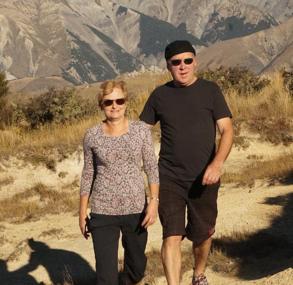 Sally Lewis & Greg Hopkinson