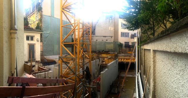 Bauphase beginnt in der Augustenstraße.
