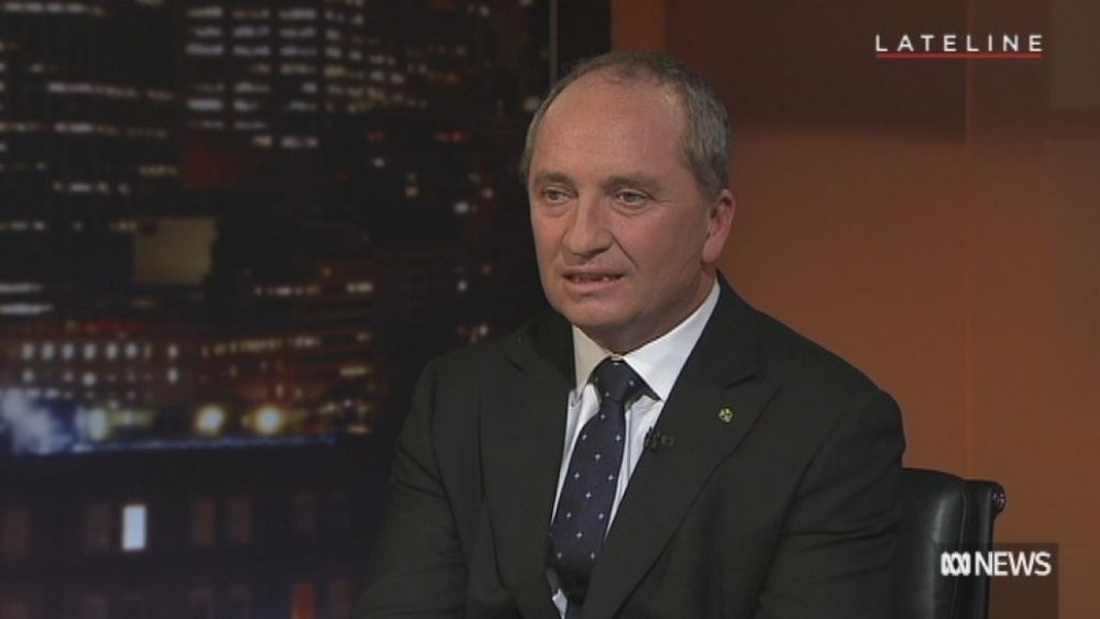 ABC NEWS Lateline - Barnaby Joyce interviewed by Jeremy Fernandez