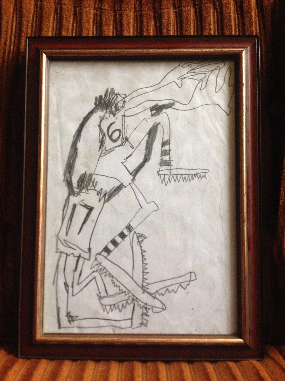 Contested Mark  by Emlyn Johnson