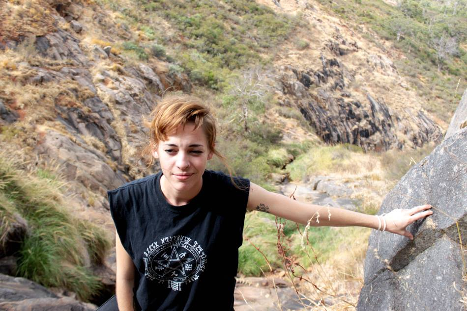 Me at Lesmurdie Falls, 2014