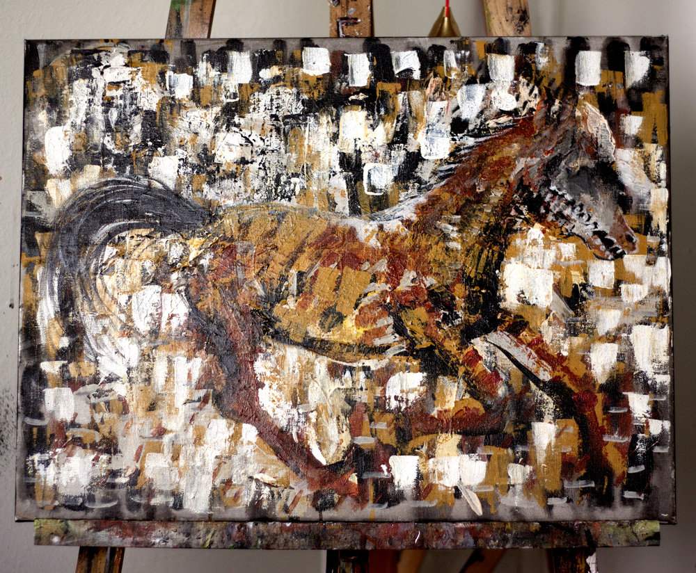 "The Horse (Mary Was a ""Drover's Boy""). Tahlia Palmer, 2015"