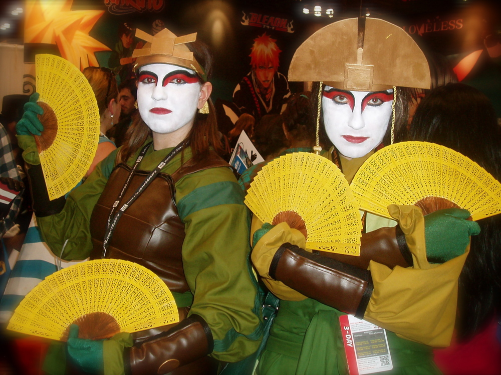 Kiyoshi Warriors from Avatar: The Last Airbender