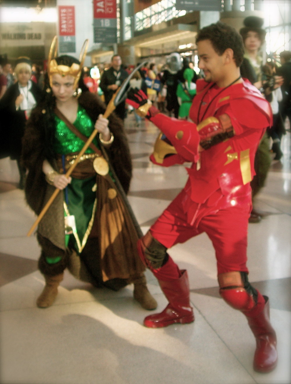 Fem!Loki and Tony Stark 2