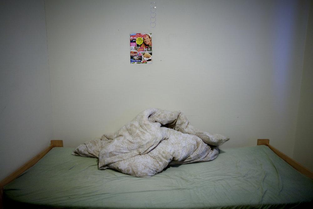 Voksne og barn med begrensede tillatelser kan bli boende lenge på asylmottak.  Foto: Espen Rasmussen