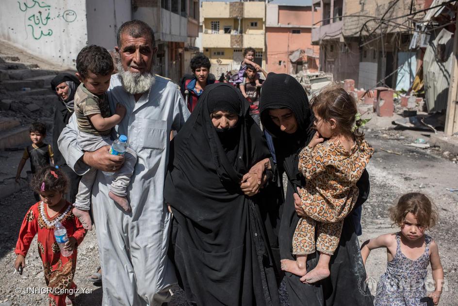 Sårbare irakiske asylsøkere henvises til internflukt, selv om de har dårlige forutsetninger for å etablere seg i internfluktområdet.  foto: unhcr/cengiz yar