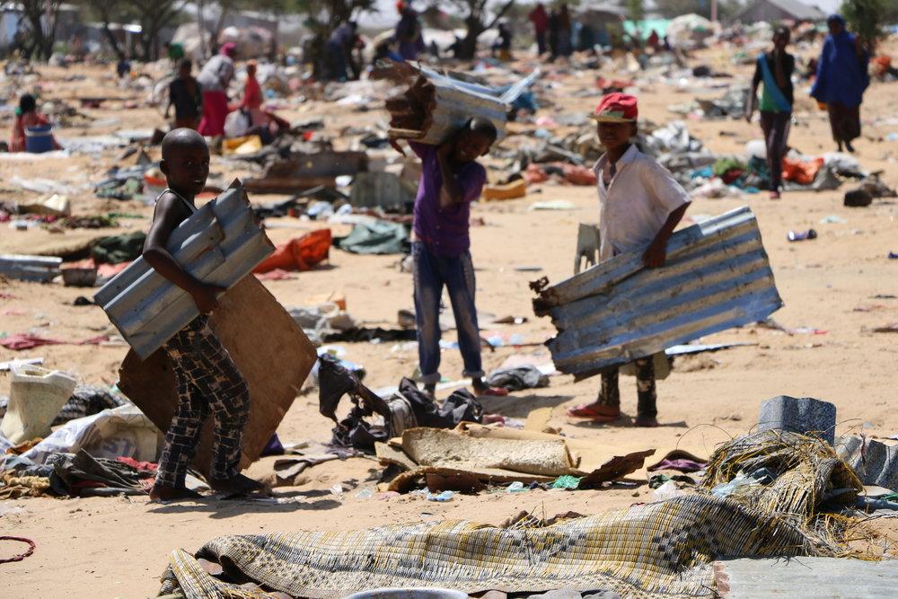 Norske utlendingsmyndigheter vurderer at sikkerhetssituasjonen i Somalia har blitt bedre, og gir avslag til flere somaliske asylsøkere enn tidligere. foto:Shakur Ali/NRC