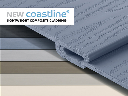COASTLINE - It's called Coastline. An innovative composite cladding system that lifts the appearance of any property and adds up to 10 years of guaranteed weatherproof performance to every exterior.It's called Coastline.