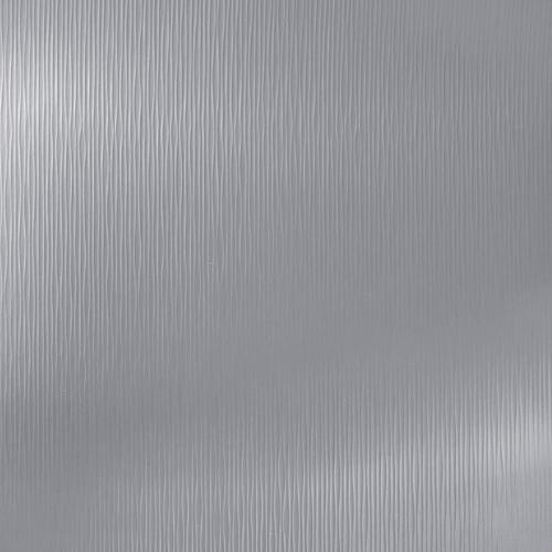 609 WAVES BRUSHED ALUMINUM