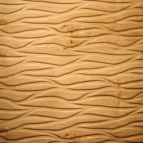 Motion fossil knotty oak