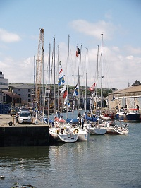 Boats on the quay