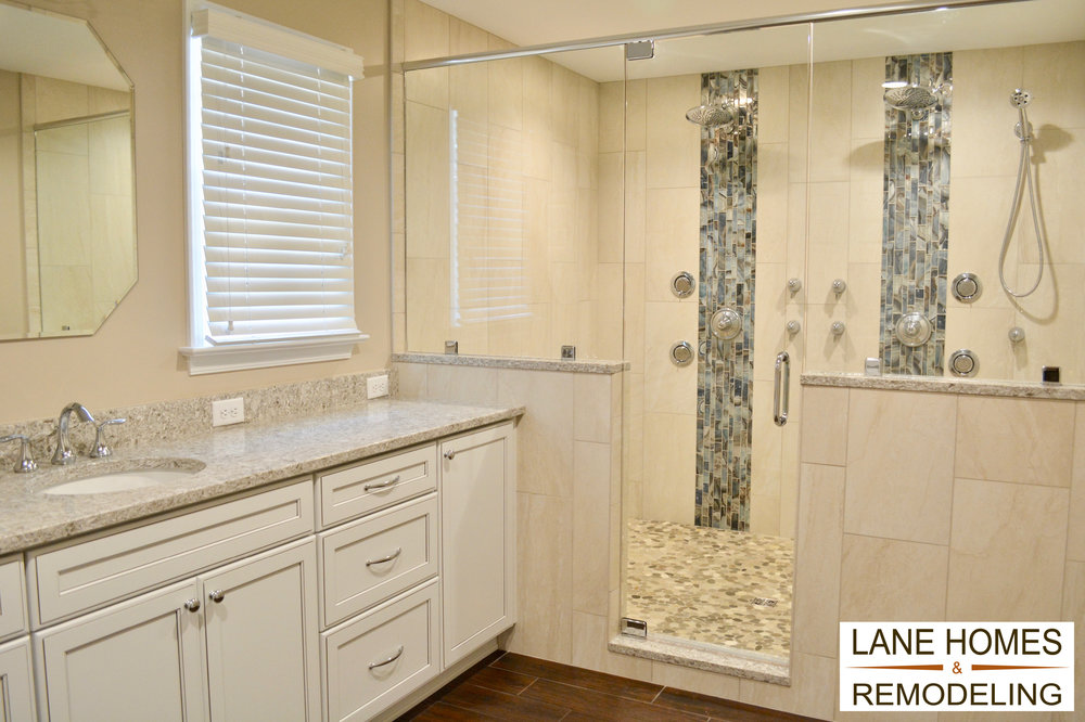 Residential Bath Over $50,000 - Lane Homes & RemodelingDesigner Alex Muller