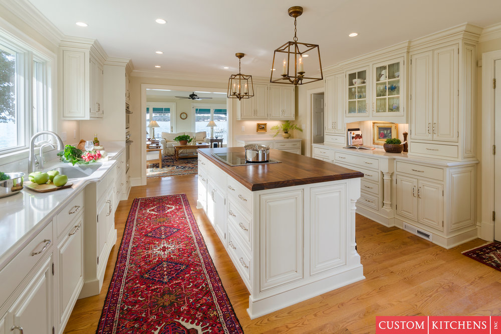 Residential Kitchen Over $100,000 - Custom Kitchens Inc.Designer Jennifer Duncan