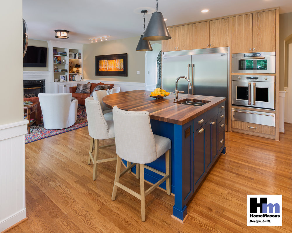 Residential Kitchen Over $100,000 - HomeMasons, Inc.Costen Floors, Inc.Ferguson EnterprisesSiewers Lumber & Millwork