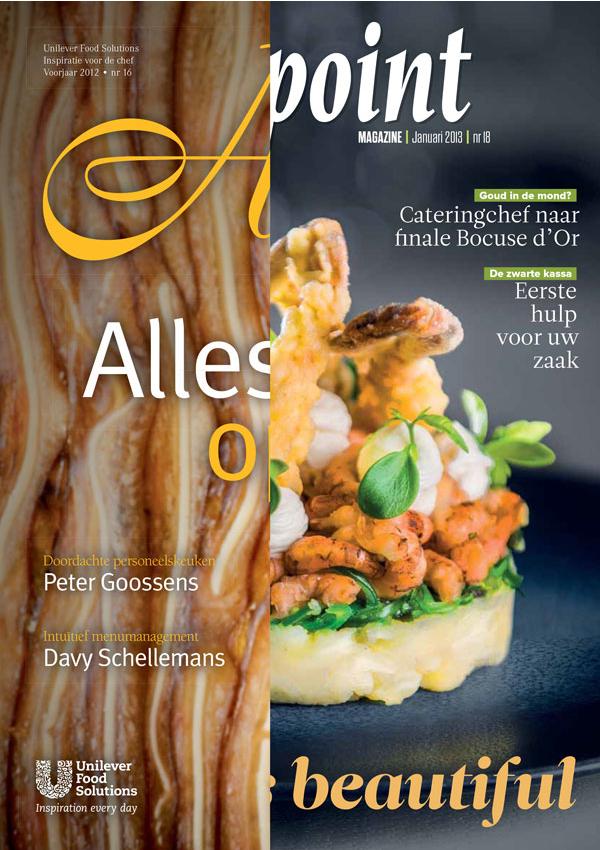 Restyling culinaire magazines Unilever Food Solutions   (in vaste dienst bij Sanoma)