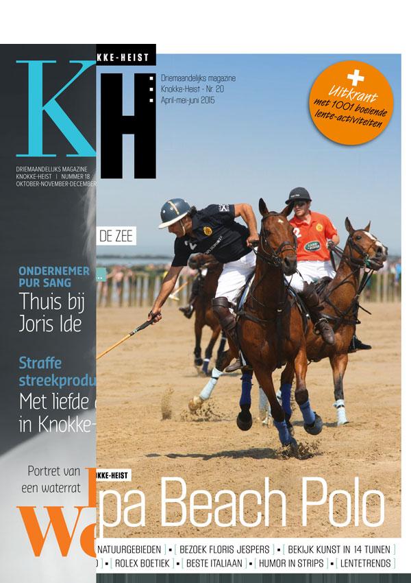 Restyling Knokke-Heist magazine   (in vaste dienst bij Sanoma)