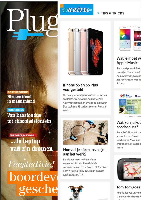 Van magazine naar blog voor Krëfel   (in vaste dienst bij Sanoma)