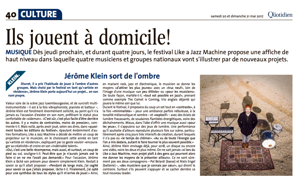 Article Quotidien