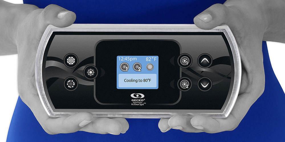 Clavier à écran couleur pour spas in.k500