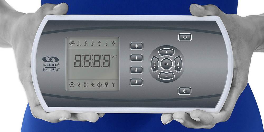 Clavier écran LCD pour spa in.k600 de Gecko