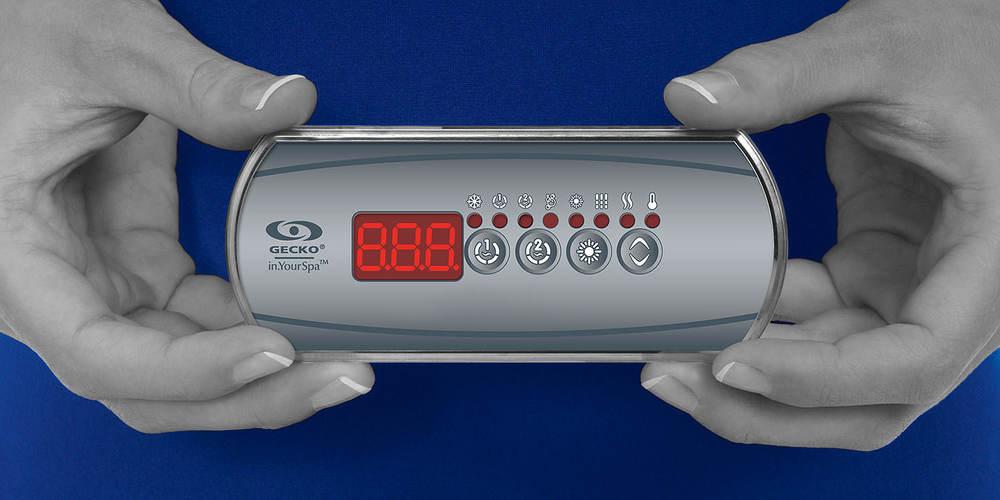 Clavier à écran DEL in.k200 de Gecko Alliance