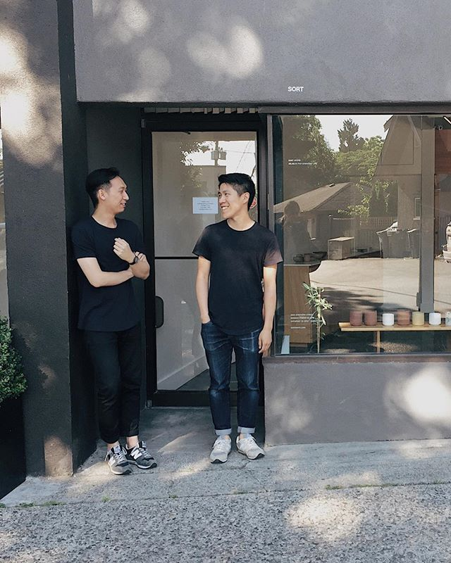 Today we're introducing you to Alvin and Vince from @studiofaculty an Art Direction and Graphic Design Agency based in Vancouver, Canada. We love their work 🙌🏻 check out the link on profile to read their interview and see more of their work.  Oh! And we're partnering with them for a little #giveaway as well!! 🎁  Check our stories for details on how to enter!  Photo by @gillianstevens