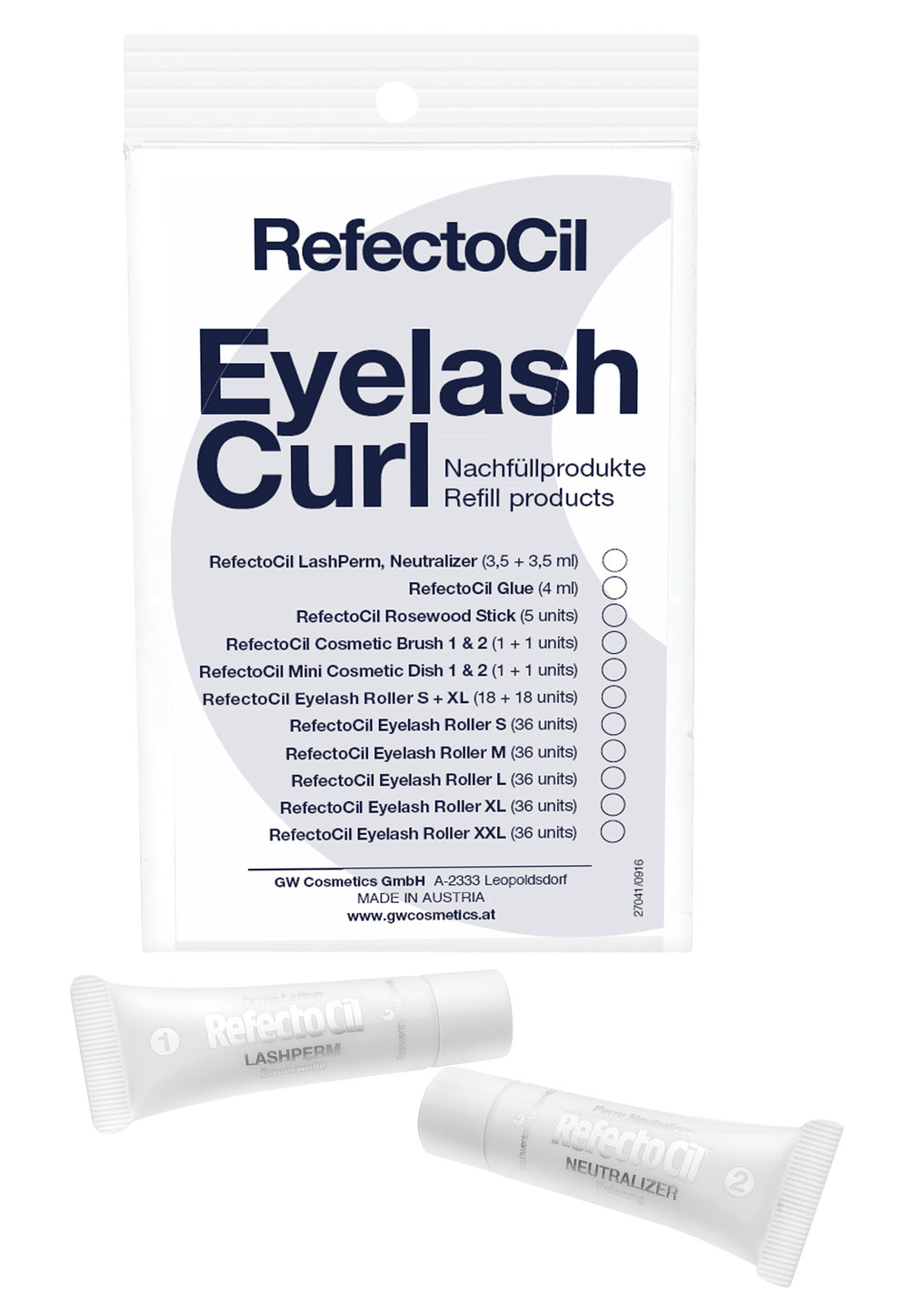 Eyelash Lash & Curl Refill - Perm/Neutralizer