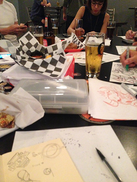 AIGA Central PA: Pens & Pints event hosted at Zeroday Brewing