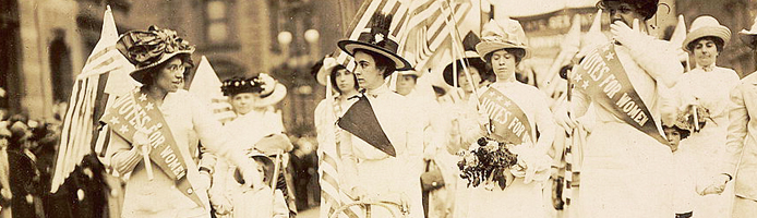Women's Suffrage Parade in New York, May 6, 1912. Library of Congress