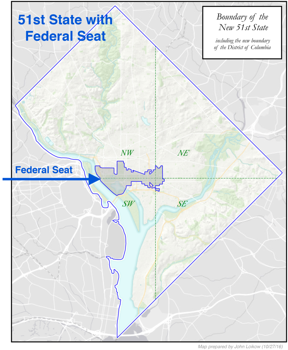 Proposed Boundaries — League of Women Voters of the District of Columbia