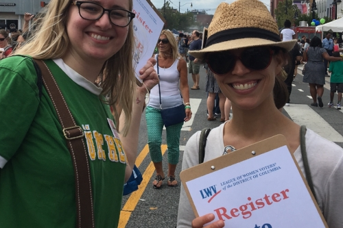 Register Voters - We register voters across the city every year and actively encourage all citizens to vote.  We also register voters at naturalization ceremonies every month.  Volunteer Today and help us ensure everyone in our city is signed up and ready to vote