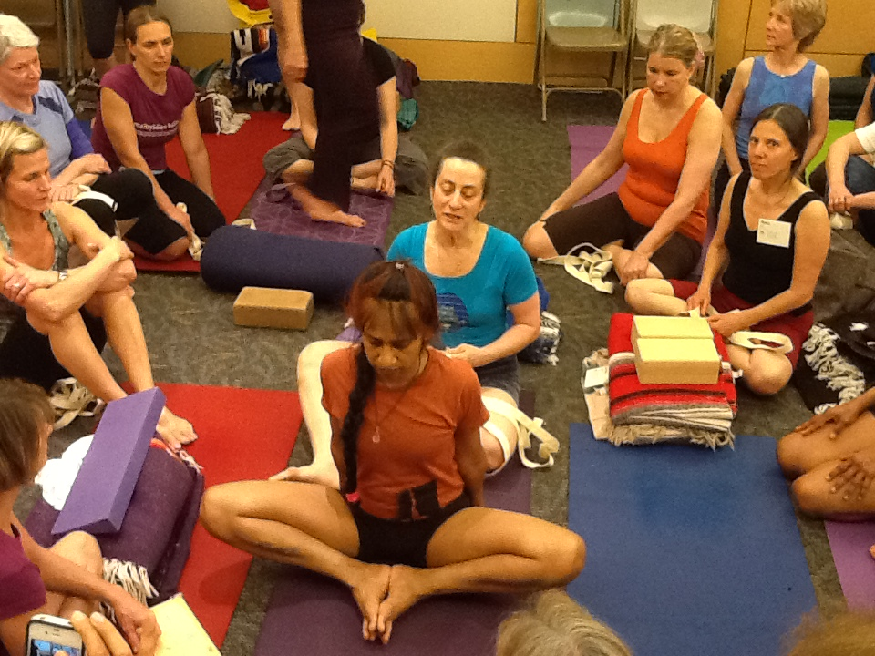Lois teaching baddhakonasana.jpg
