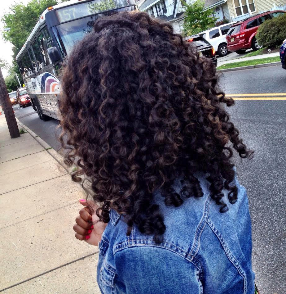 hair with minimal highlights