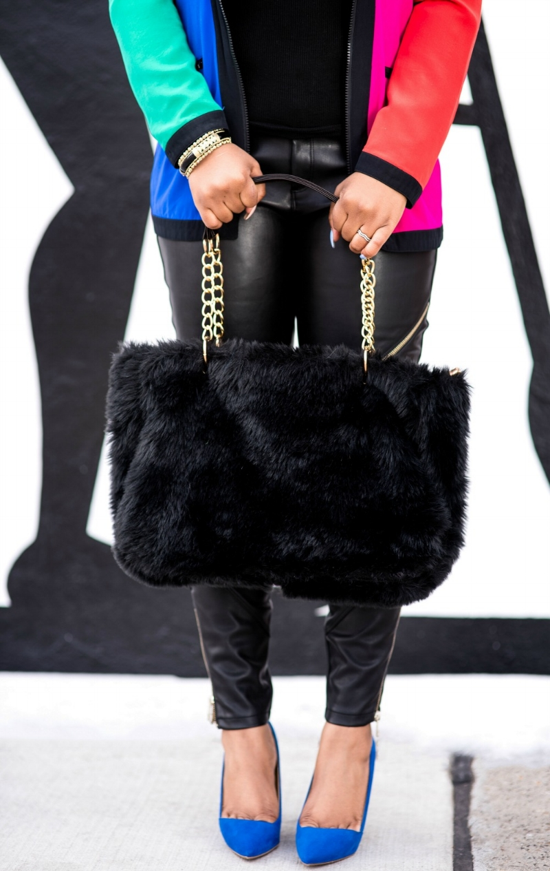 Style & Poise: fur Purse