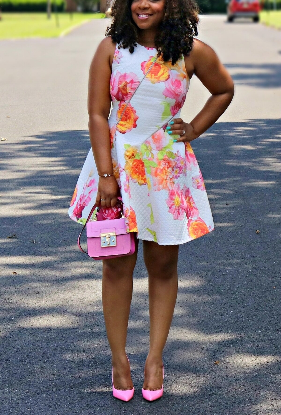 Style & Poise: Neon Florals
