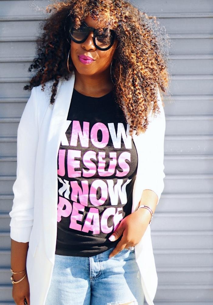 Know Jesus, Know Peace T-Shirt