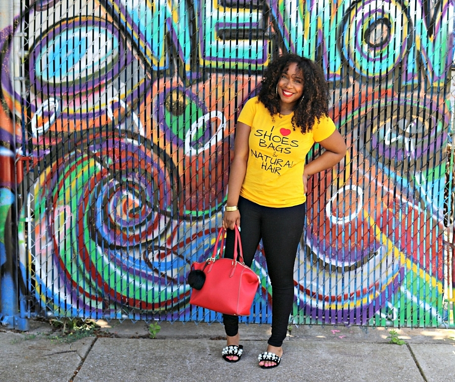 Style & Poise: Cute tee and Pearl Flats