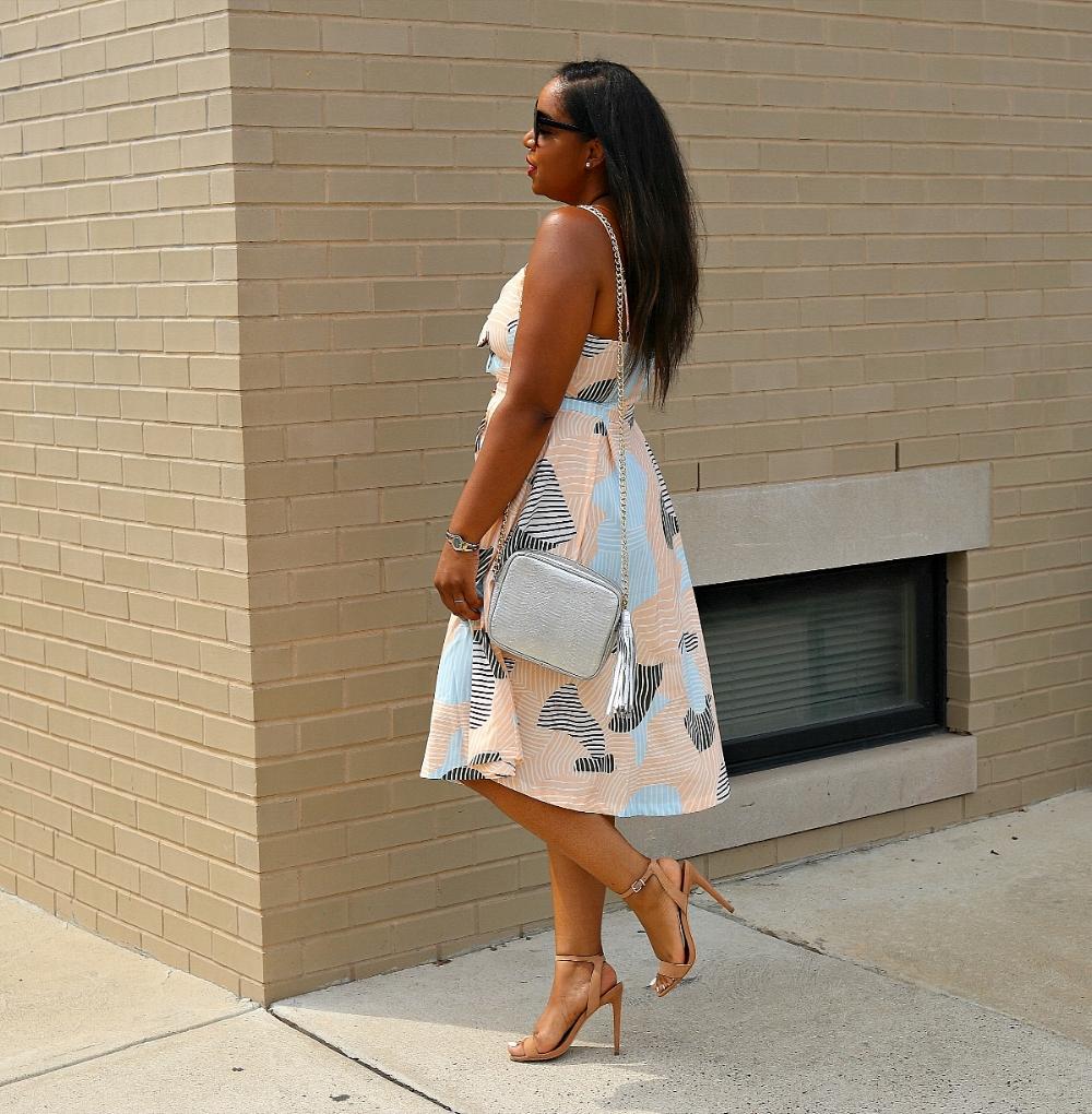 Midi Dress, Summer Fashion