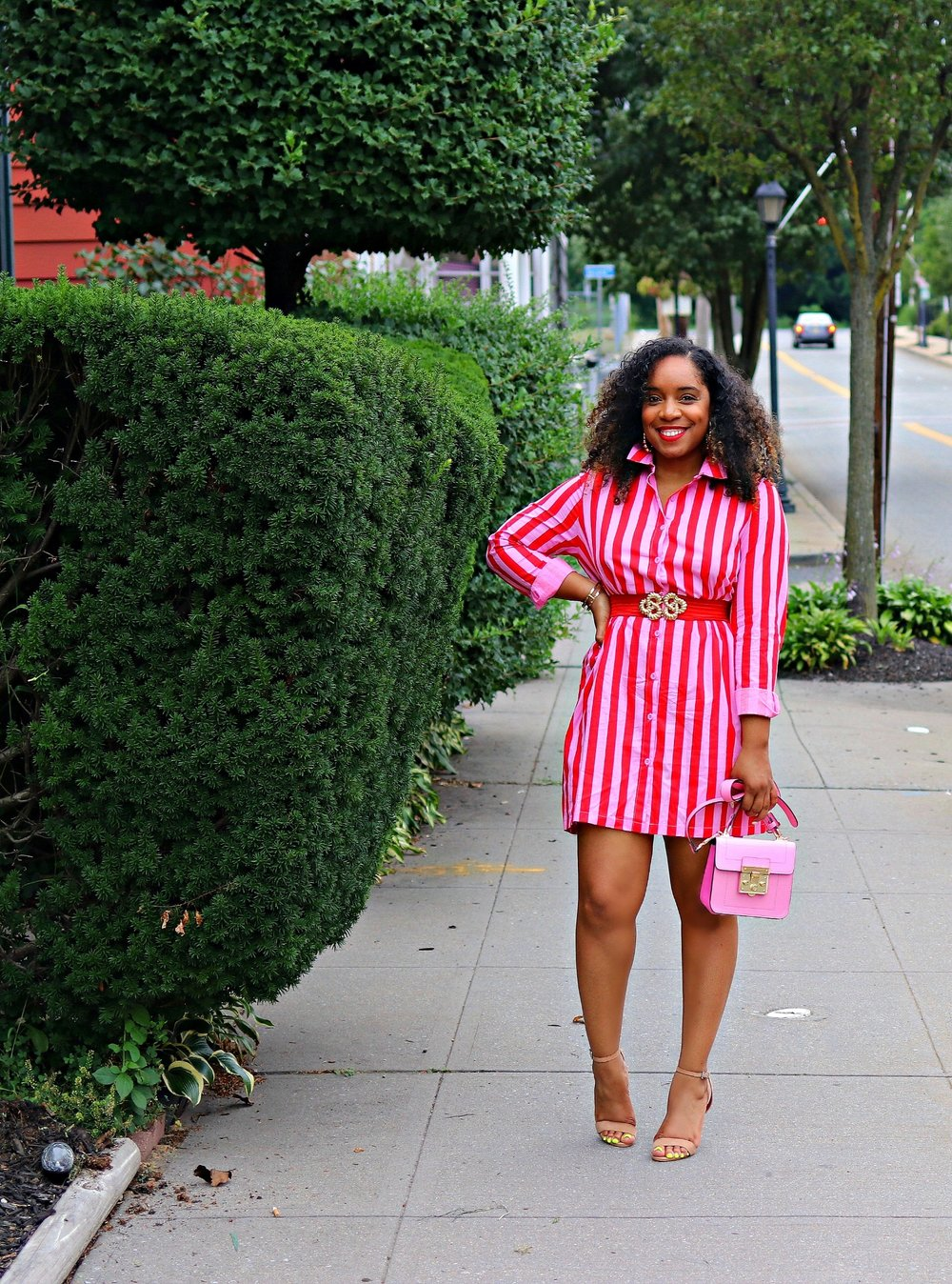 Candy Stripe Asos Dress
