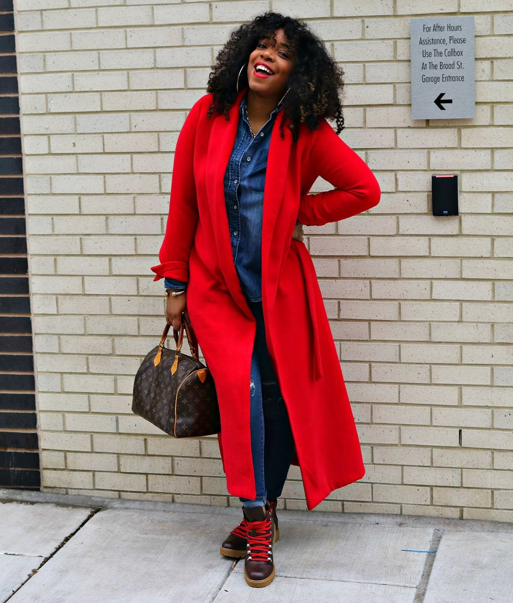 Red Coat Vibes