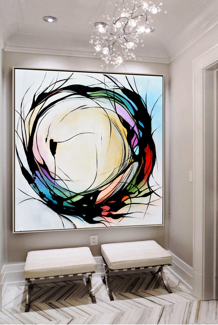 Genial Modern Art Home Decor   Modern Abstract Paintings ...