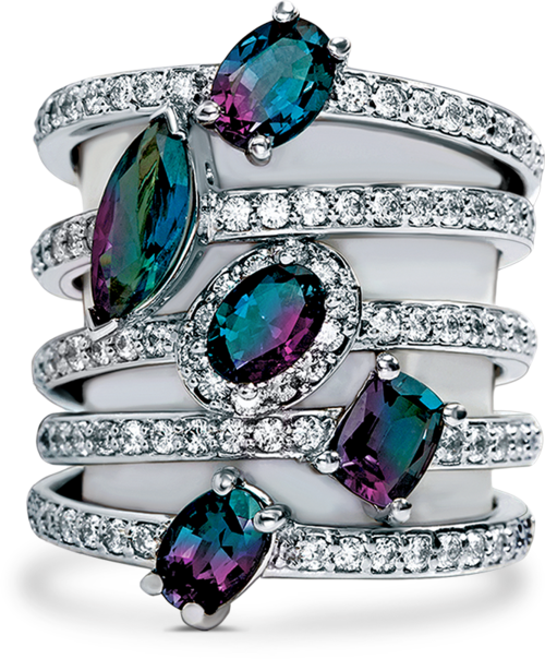 196d9b56c ... Mark Henry Alexandrite Jewelry Collection. Bask in your opportunity to  be One in a Million.