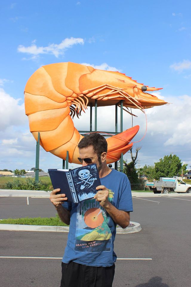 a large prawn in Australia, book of jobs .jpg