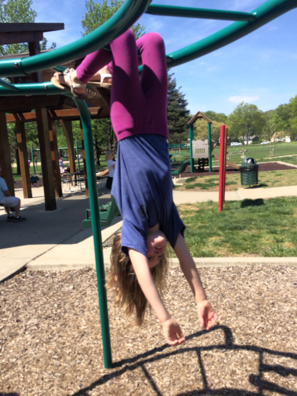 When's the last time you hung upside down from the monkey bars?