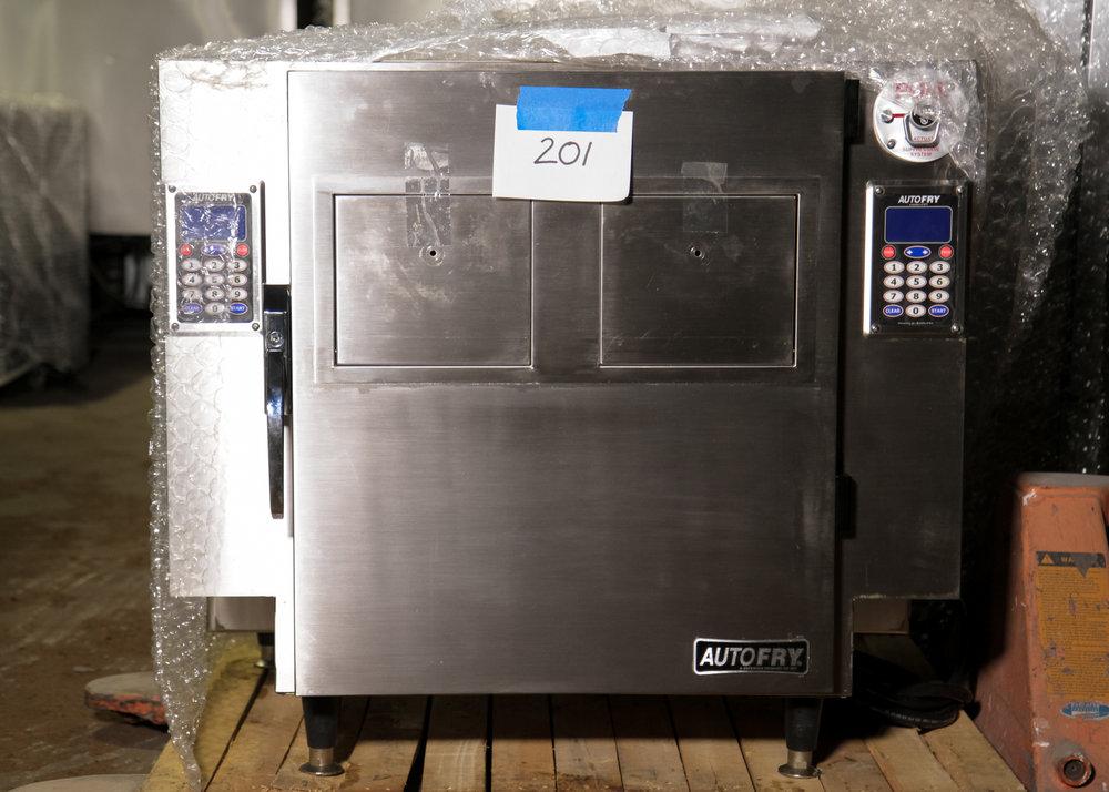 AutoFry MTI-40C Dual Ventless Deep Fryer