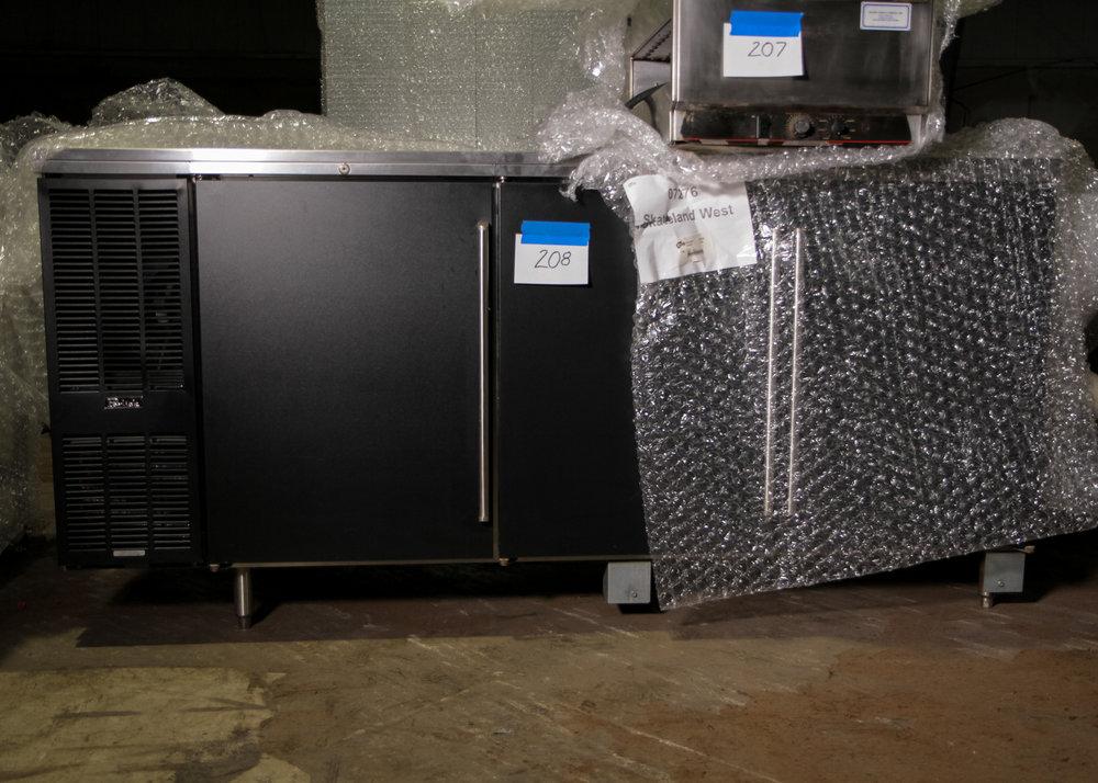 """Perlick Three Door Bar Back Cooler 84"""""""