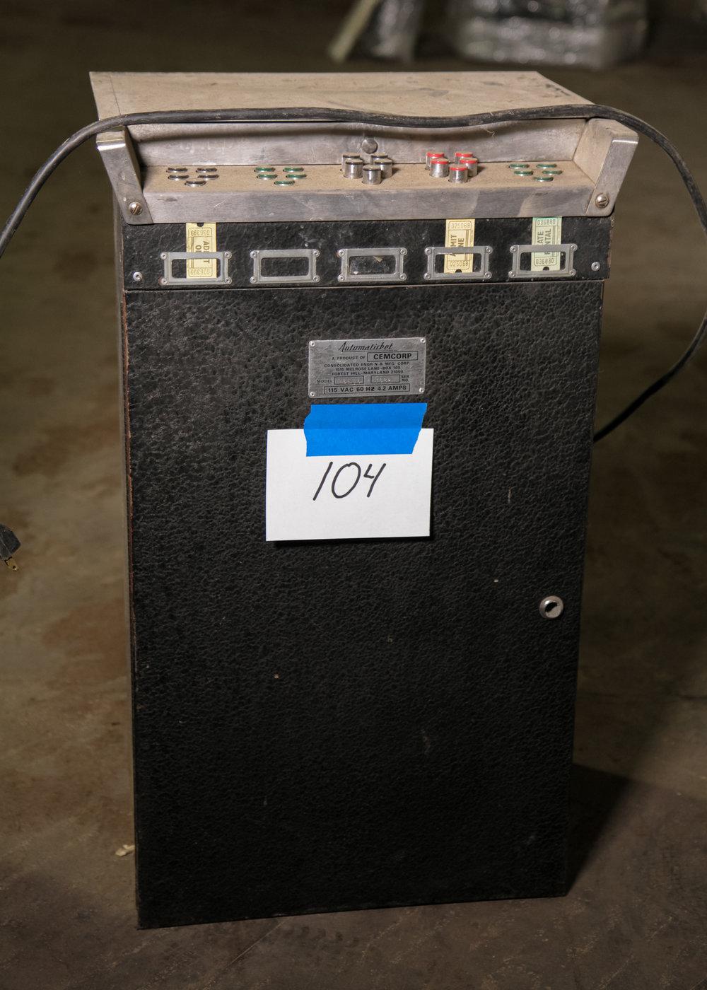 Automaticket Ticket Dispenser Machine