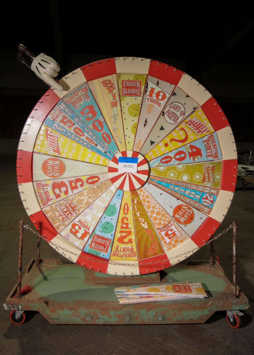 6' Diameter Custom Built Prize/Party Wheel
